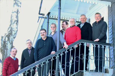 Der aktuelle Vorstand des HVV Wiederstein