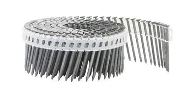 Coilnägel plastikgebunden mit 2.1 mm Durchmesser und 16°