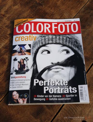 Veröffentlichung in der COLORFOTO