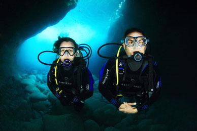 Scuba diving nice
