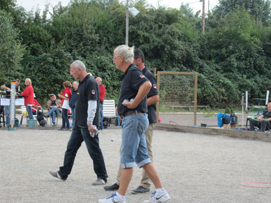 Klaus Mohr mit DM Veteran-Team 2014. Spielte in der Position K. Eschenbach verändert mit J. Fernandes 2015.