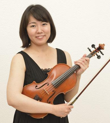 Anouchka Scaillet - Konzertgeigerin und Musikpädagogin (M.A.)