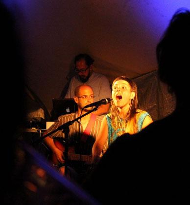 Annuluk - Konzert vom 24.07.2015 auf der Waldbühne am Peißnitzhaus in Halle (Saale) - World Music Night am Peißnitzhaus