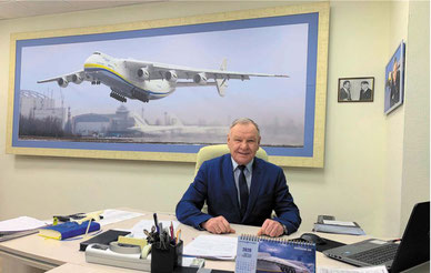 Antonov Airlines Director, Mykhailo Kharchenko. Image courtesy of Antonov Airlines