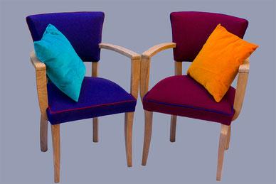 2 fauteuils Bridge tissu Kvadrat à vendre. 900€ la paire