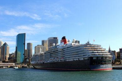 Queen Victoria, Sydney, Hafen, International Passenger Terminal, Australien
