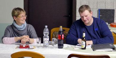 Vorstandsmitglieder Ute Löv und Karsten Kruse sind zufrieden mit dem Erreichten.