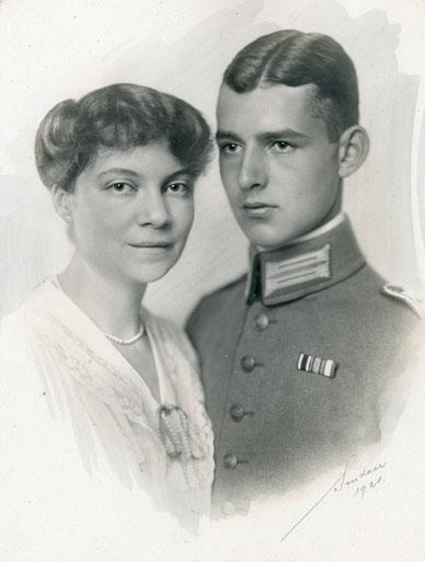 Als Verlobte Graf und Gräfin von Merveldt