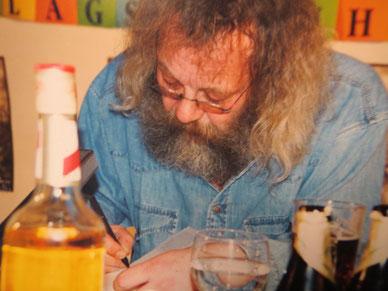 Harry Rowohlt, Leipzig, 1996  / Foto: CVB