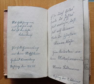 Gertruds Poesiealbum