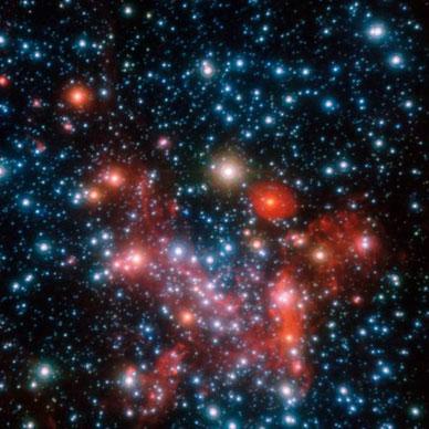 Foto: ESO/S. Gillessen et al.