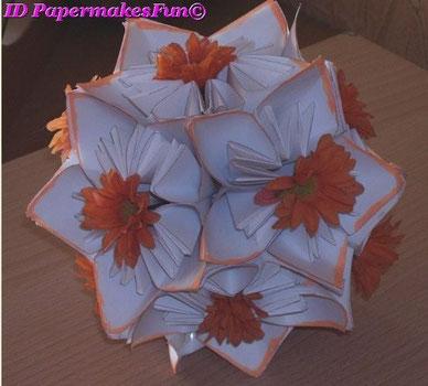 Origami - Blütenkugel