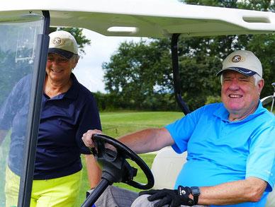 Unser Präsident Werner Setzwein mit Gattin Uschi beim Turnier