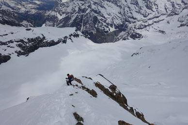 Skihochtour, Gross Grünhorn, Berglihütte