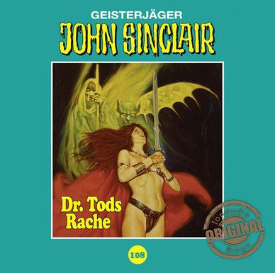 CD-Cover John Sinclair TSB Folge 108 - Dr. Tods Rache