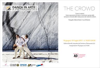 The Crowd, mostra personale a cura di Luca Di Bartolo e Alberto Desirò