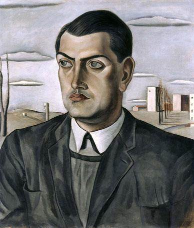 Портрет Луиса Буньюэля - Сальвадор Дали