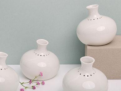 Vase perforiert