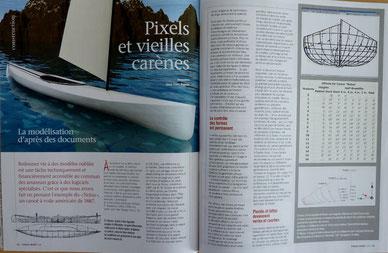 POIRIER, Pixels et vieilles carènes, in Chasse Marée 228, 2010 (la Bibli du Canoe)