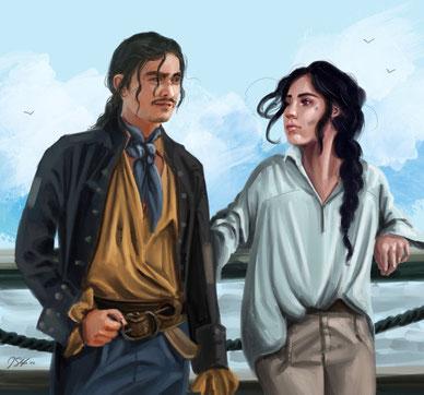 Brashen et Althéa, par Jenny Slife