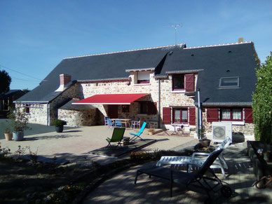 Le St Joseph gîte à St Aubin des Chateaux Chateaubriant Loire Atlantique