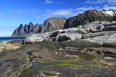 Landschaftsrouten Norwegen, Senja