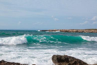 Cap de ses Salines nach Cala en Tugores, Mallorca