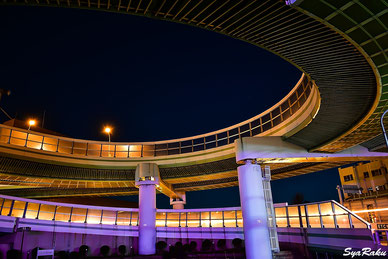 名古屋 高速道路 夜 撮影