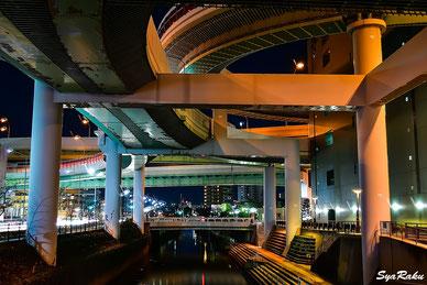 名古屋 高速 I.C 写真 撮影