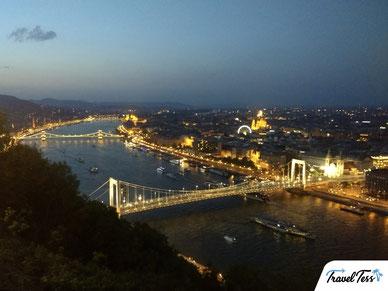 Citadella heuvel Boedapest