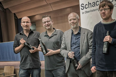 4. Platz für Peter Kranzl, Harald Casagrande, Reinhard Heimberger und Florian Sandhöfner