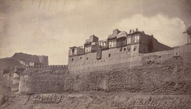 بالاحصار کابل، ریزدینسی اجنت بریتانیی، محلی که کیوناری به قتل رسید.