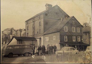 Erstes Treffen an der Kirchhofsmühle Anfang der 80er Jahre.