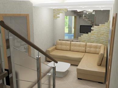 Дизайн интерьеров коттеджей. Фотография интерьера СПА зоны в коттедже 380 кв. метров в пос. Песочный