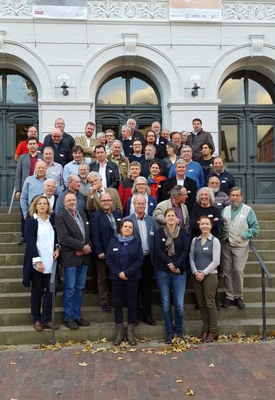 Tagungsteilnehmer der NHB/ArchAN-Herbsttagung in Oldenburg, Foto: W. Pollak