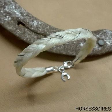 Armband aus Pferdehaar von Horsessoires
