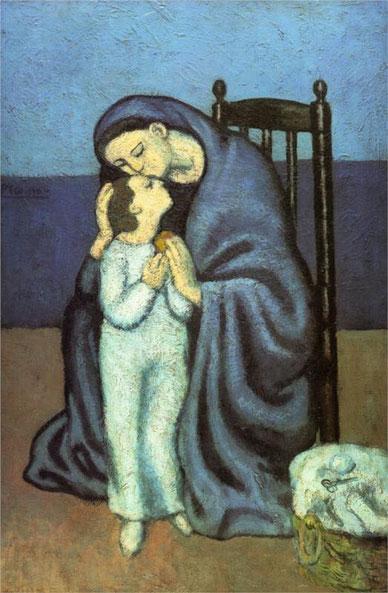 """Pablo Picasso, """"Maternidad"""""""