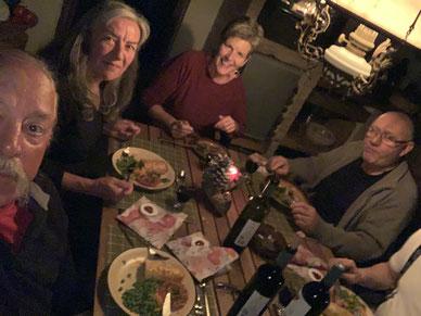 Weihnachten bei unseren Schweizer Freunden Sybille und Erwin in Gythio