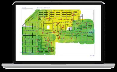 netAlly AirMagnet Survey Pro mit Planner