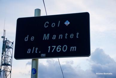 Le Col de Mantet 1760 m, camp de base des astrams lors du Festival de Mantet