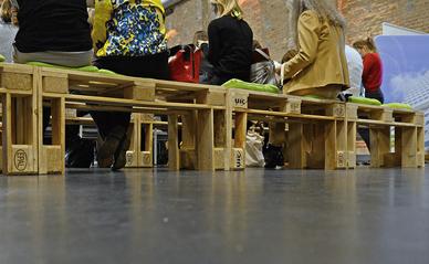 Palettenmöbel mieten und  Indoor/Outdoor Eventmöbel Verleih in Heilbronn und Umgebung