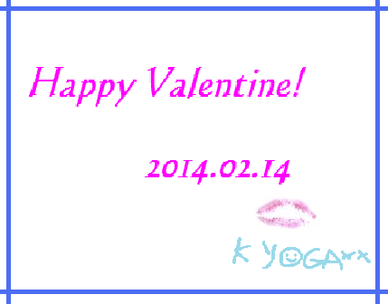 K YOGA 表参道バレンタイン