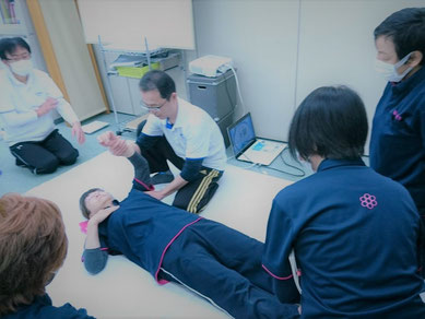 しんそう療方京都研修会では、しんそう療方の技術、理論を学べます。