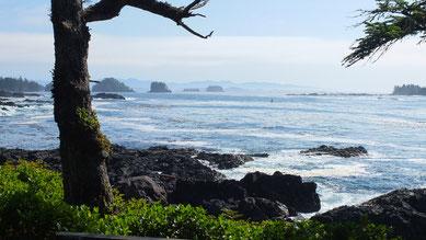 Blick auf den Pazifik