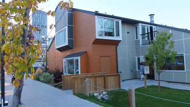 unser Hostel in Calgary