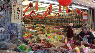 Geschäft in Chinatown