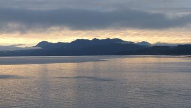 Überfahrt nach Vancouver Island