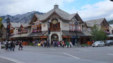 Innenstadt von Banff