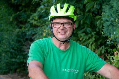 Udo aus der e-motion e-Bike Welt Göppingen