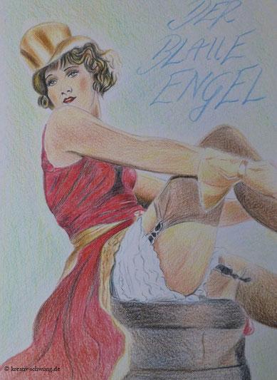 Marlene als fesche Lola 1930
